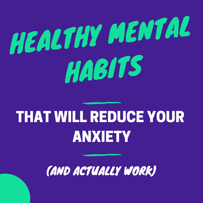 healthy mental habits