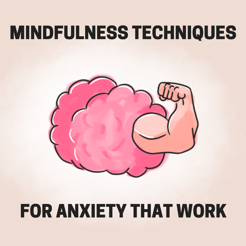 mindfulness techniques for anxiety that work